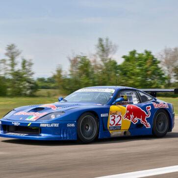 数々のレースを駆け抜けたフェラーリ550GT1が競売に登場
