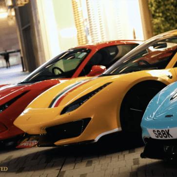 香港にて、ワイルド・スピード/ ジェットブレイク公開に合わせてスーパーカーが集まる