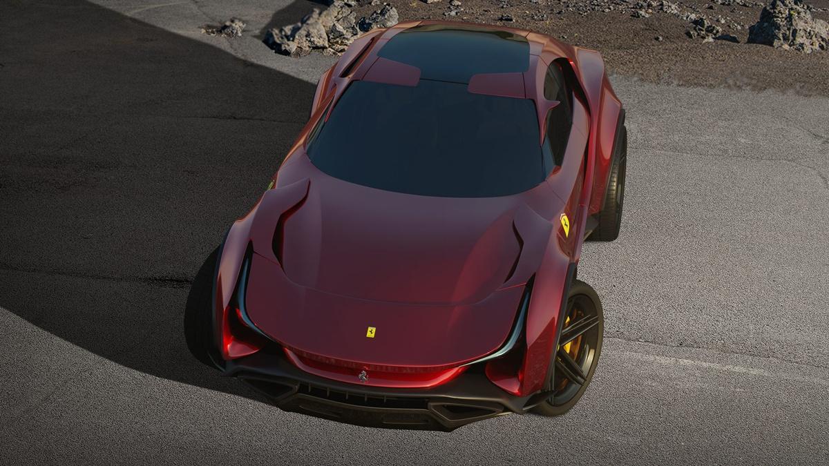 フェラーリの新世代SUV、「シムーン」のCGが公開