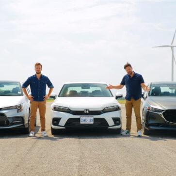 新型ホンダ・シビックが早くも加速競争に参加!トヨタ・カローラ、Mazda3との争いを制することに