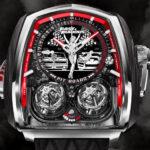 ジェイコブより「ワイルド・スピード/ジェットブレイク」とのコラボ腕時計が限定9本にて発売開始