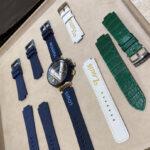 ルイ・ヴィトンの腕時計「タンブール」のベルトを交換した
