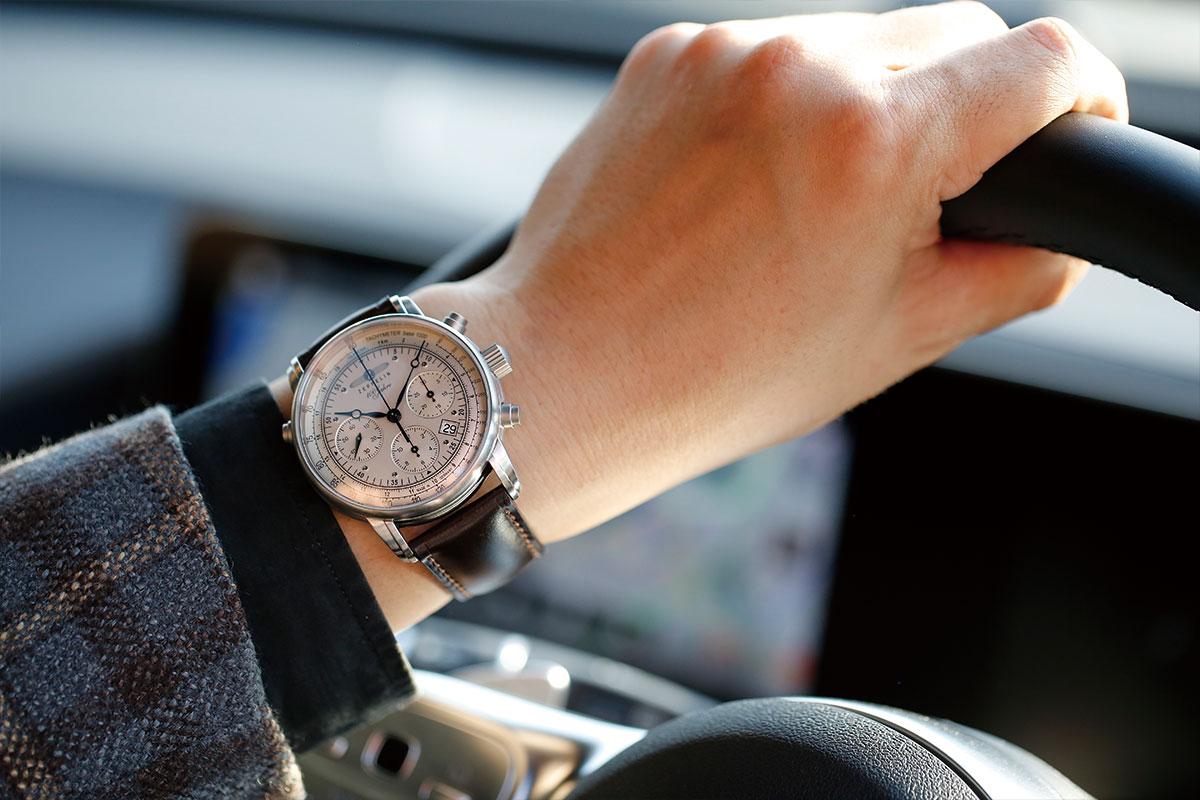 ドイツ製腕時計「ツェッペリン」とメルセデス・ベンツがコラボ