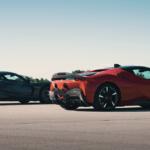 まさかの「フェラーリSF90とリマック・ネヴェーラとの加速競争」がもう実現