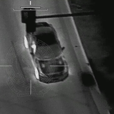 スバルBRZが知らないうちに上空からヘリで監視され、「10km/h以下の速度違反1回、10km/h以上1回」など違反を積み上げられて罰金87万円