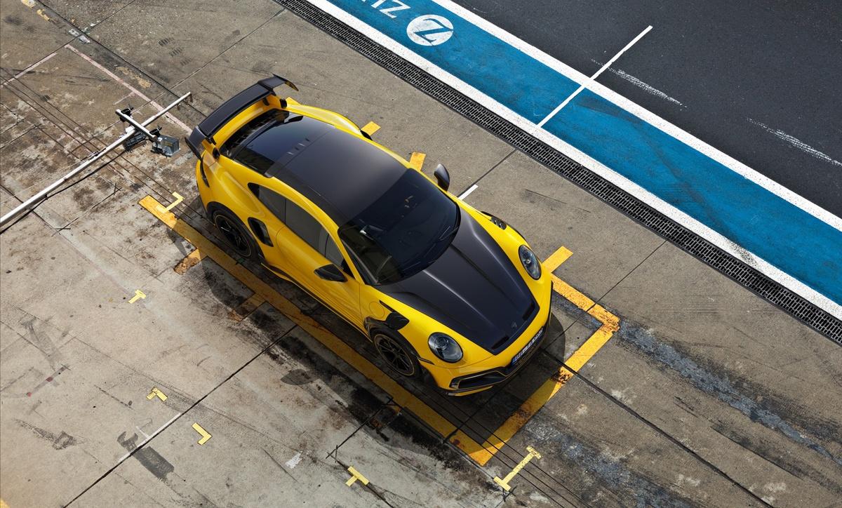 テックアートが800馬力のポルシェ911チューンドカー「GTストリートR」発表