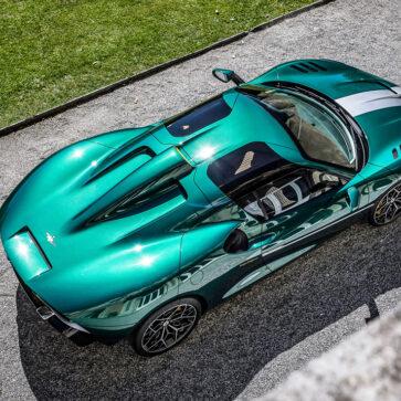 イタリアのカロッツエリア、トゥーリング・スーパレッジェーラが「初のミドシップスーパースポーツ」、Arese(アレーゼ/アリーゼ)RH95を発表