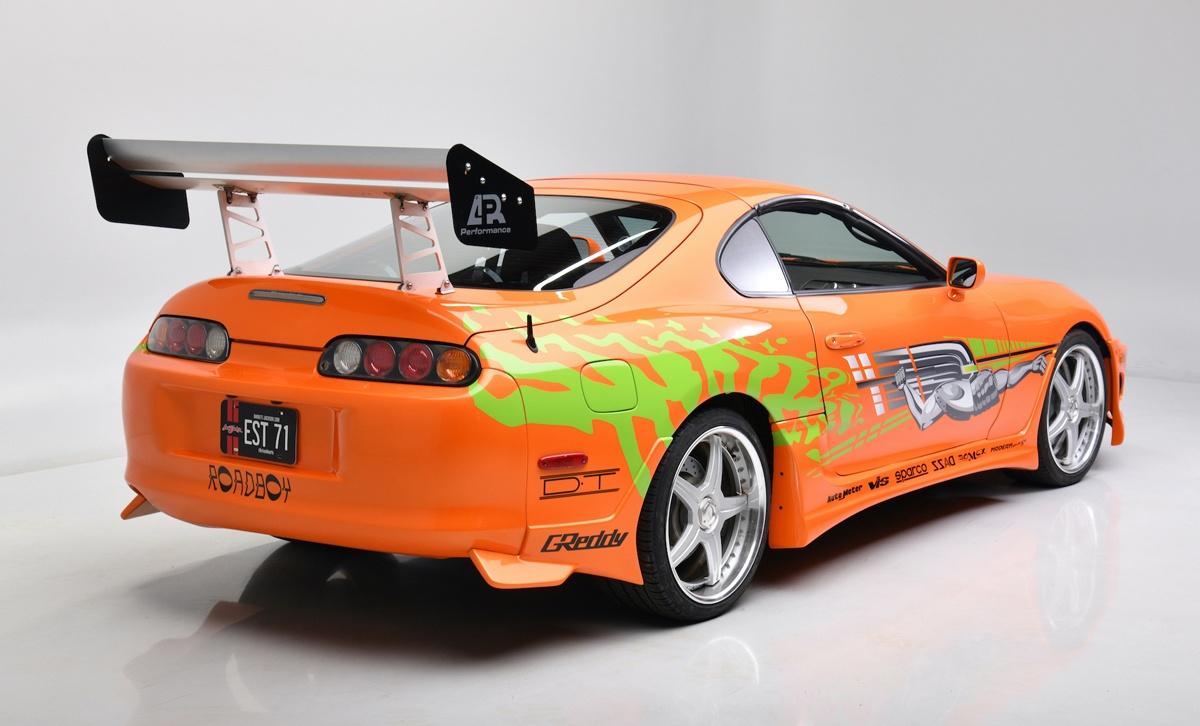ワイルド・スピードに登場したスープラが6000万円で落札!映画製作当初は「三菱GTO」をベースに脚本が書かれていたものの、急遽スープラが採用されたワケとは?