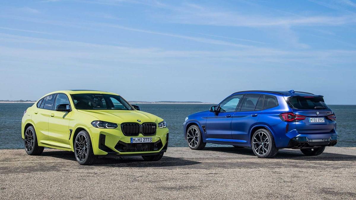 BMWが新型X3/X4、X3 M/X4 Mを発表!造形はよりシャープでダイナミックに