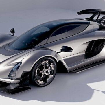 最高速452キロのハイパーカー、ジンガーC21市販バージョンが公開