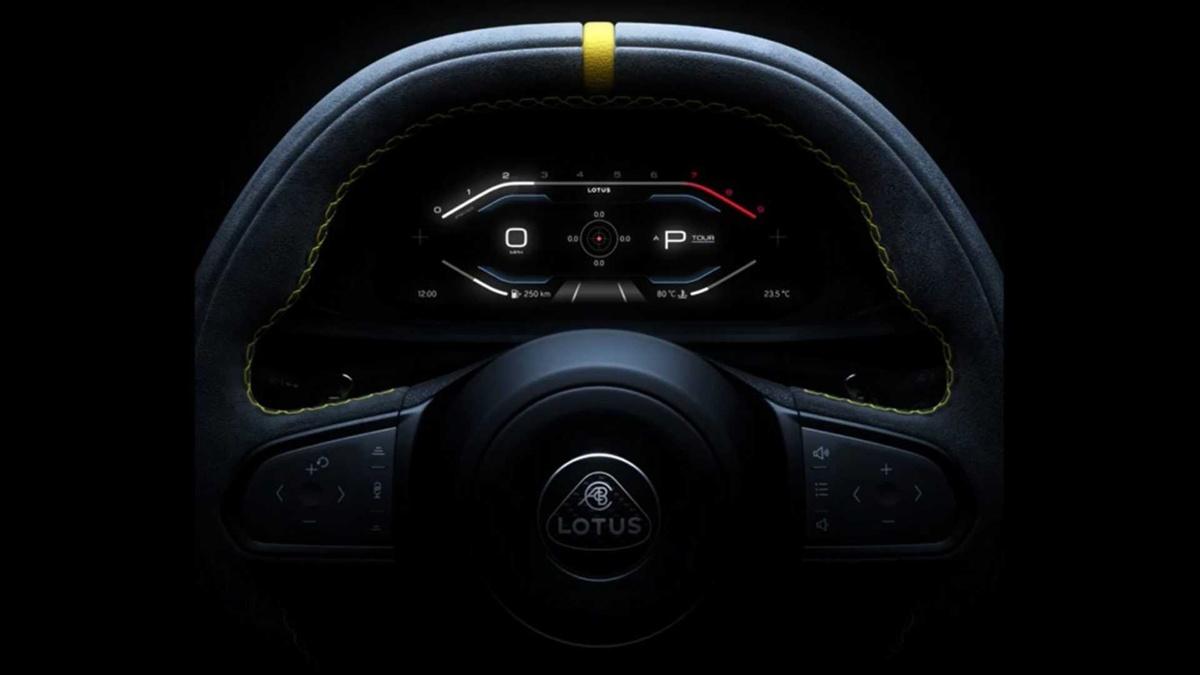 ロータスが「発売前からその寿命が決まっている」ガソリンエンジン世代最後の新型スポーツカー、エミーラの最新ティーザー画像を公開