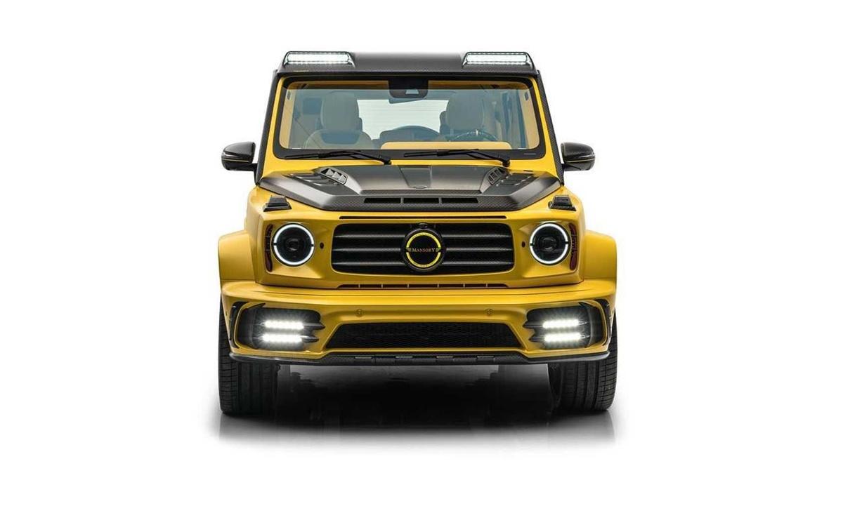 マンソリーが「すごく黄色な」メルセデスAMG G63のカスタムカー「GRONOS」公開