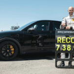 ポルシェが「ニュルで新型カイエンクーペがSUV最速ラップを更新した」と発表