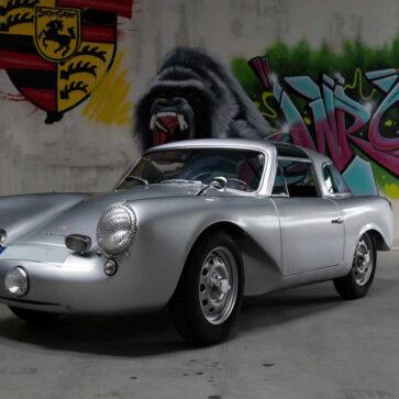 え?これがポルシェ?世界に1台、ワンオフにて製作された「グロックラー・ポルシェ 356カレラ 1500クーペ」が競売に