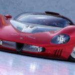 アルファロメオのコンセプトカー、ペリスコピカ