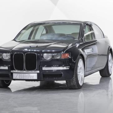 BMWが2000年代はじめに製作した「未発表プロトタイプ」、ZBF-7erを公開