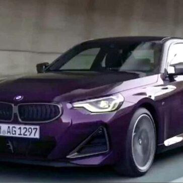 発表を目前にして新型BMW 2シリーズ・クーペがリーク!前後フェンダーがけっこうマッスル
