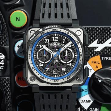 ベル&ロスがアルピーヌとのコラボ腕時計を発表!提携していたルノーRS F1チームがアルピーヌへと変更となったことにあわせ仕様を大幅チェンジ