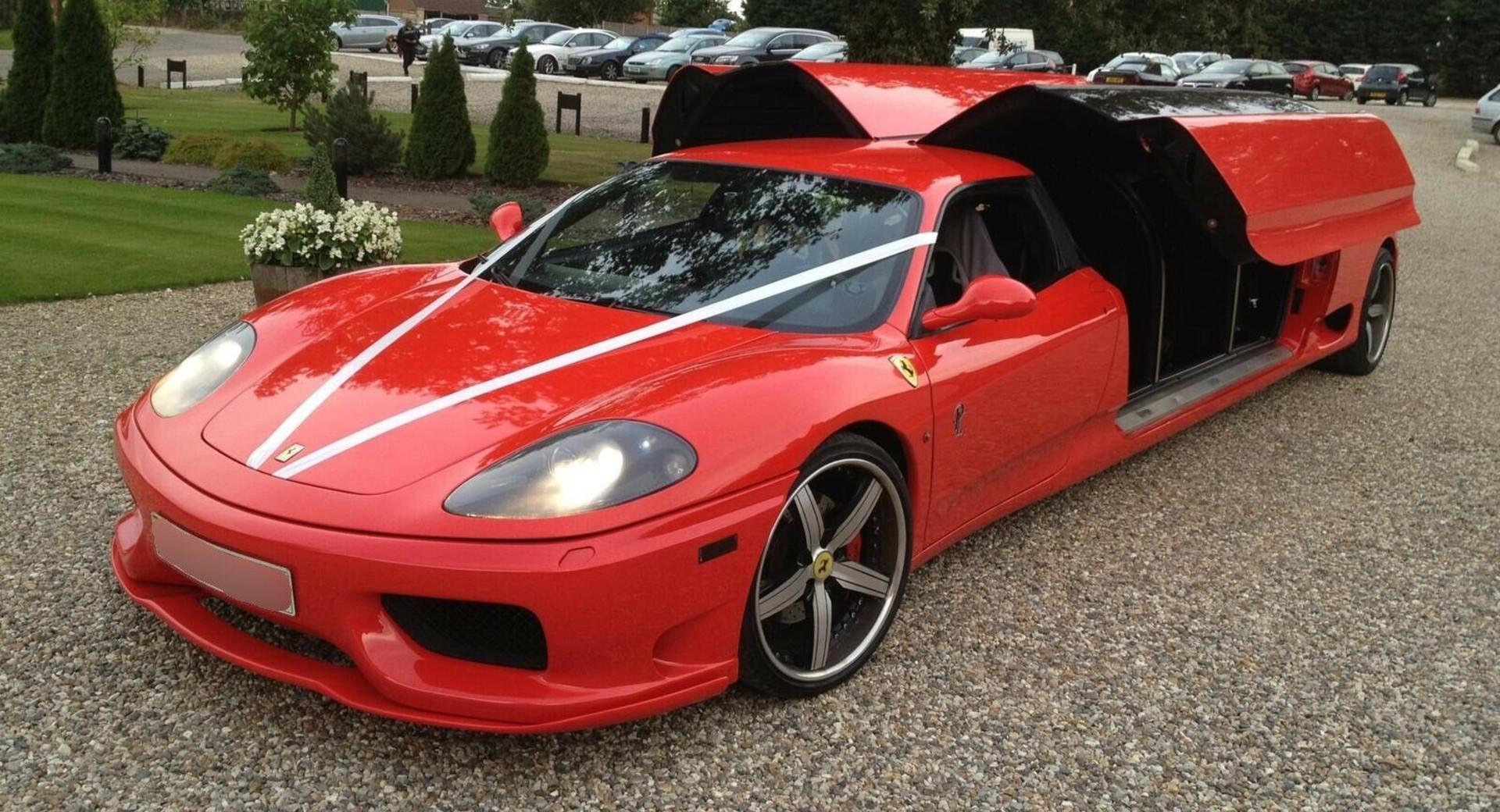 フェラーリ360モデナのリムジン