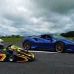 フェラーリ488ピスタとスーパーカーとのレース