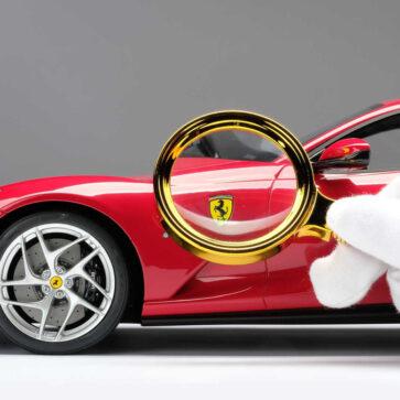 フェラーリが新オプションとして「1/8サイズ、自分仕様のミニカー受注生産システム」を導入