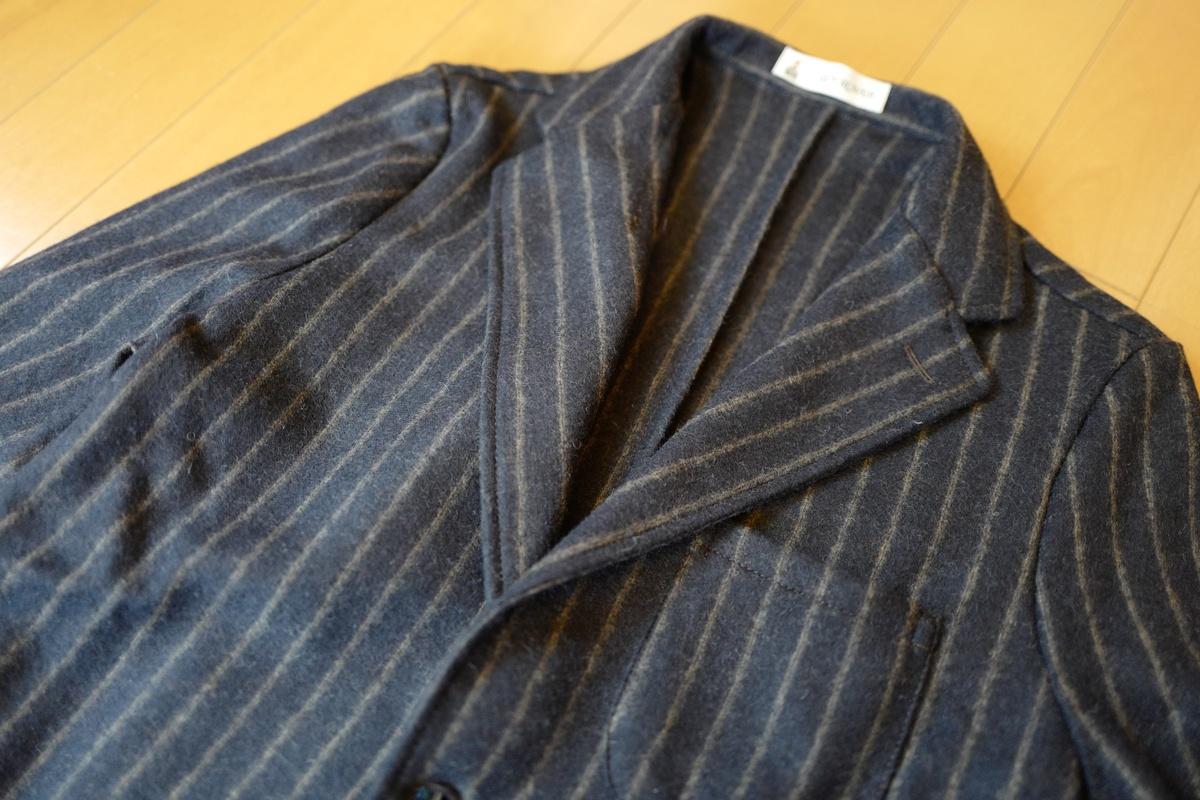 ギローバー(GUY ROVER)のシャツジャケットを買ってみた!イタリア製、素材に高級感がある割には比較的安価でオススメ