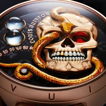 これどうやって時間見るん・・・?ルイ・ヴィトンが5671万円、奇っ怪な構造を持つオートマタ腕時計を発表