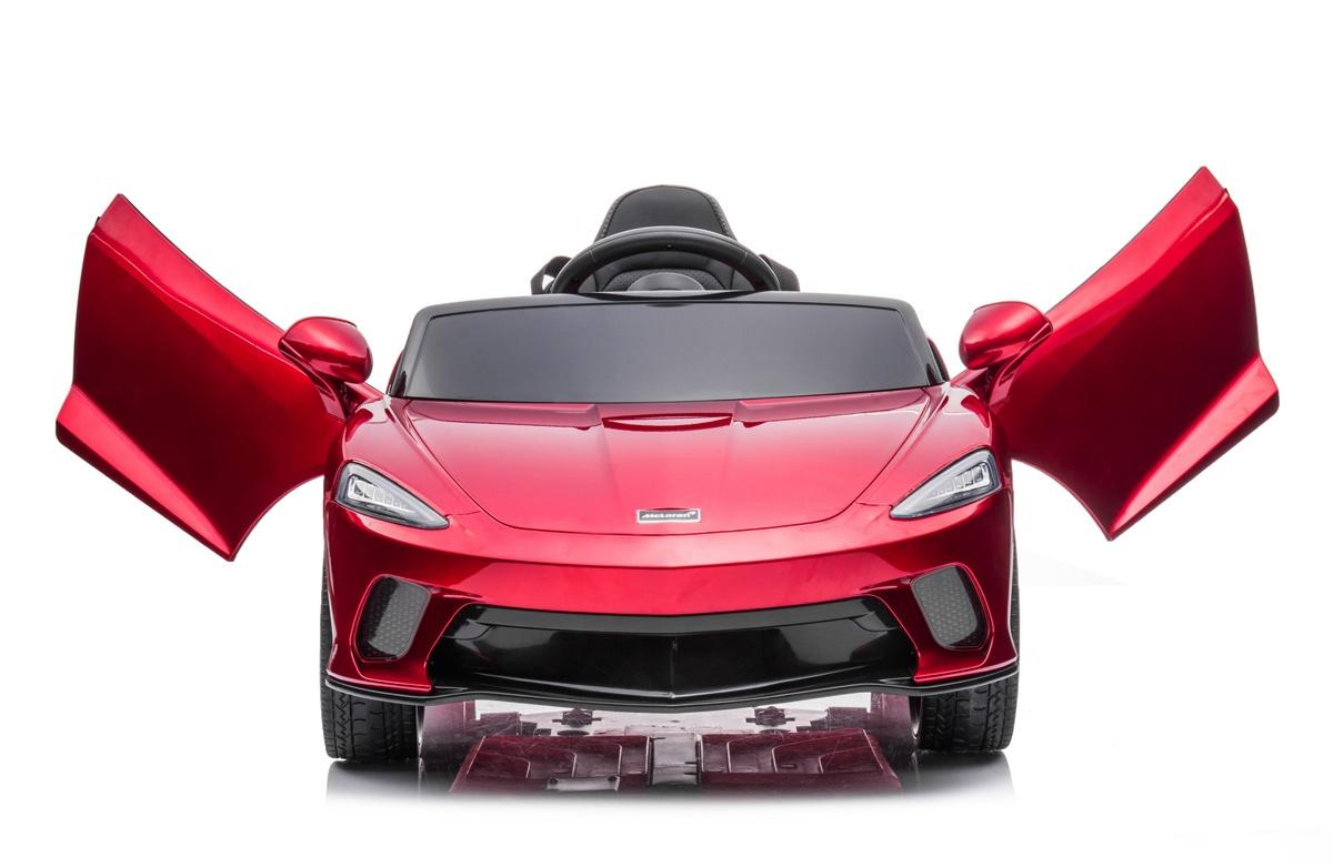 マクラーレンがキッズ向け乗用トイカー「GTライド・オン」を発売!カップホルダー、トランクも装備しもちろんライトは点灯可能、エンジン音も