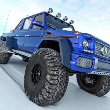 8000万円のメルセデスG63 AMG 6x6をマイバッハ仕様にバーチャルカスタム