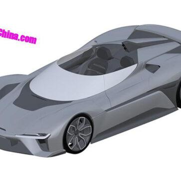中国NIOが第二のエレクトリックハイパーカー、1360馬力のEP9スピードスターを企画中?