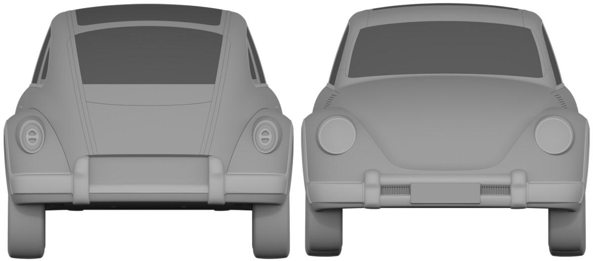 なぜこれが「新規デザイン」だと認められる!?中国とEUにて、中国の長城汽車がビートルのコピーをパテントとして登録