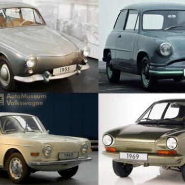 65年も生産が継続された初代ビートル!VWはその間なんどかモデルチェンジを計画しており、しかし「実現しなかった」悲運のクルマたちが公開される