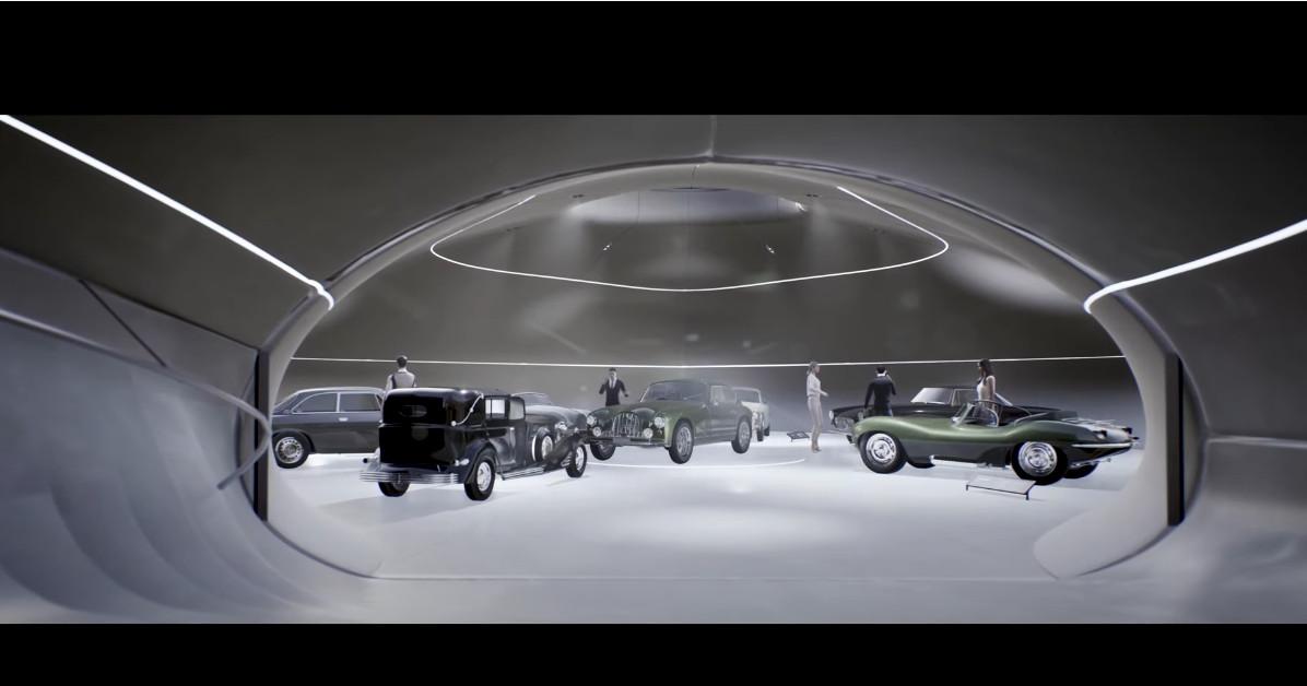 007のガレージ
