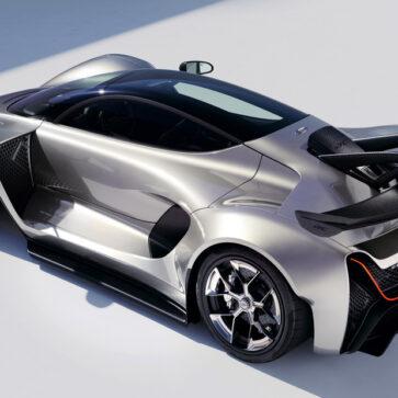 新興ハイパーカーメーカー、ジンガーが「C21」にて米サーキットでのコースレコード更新!最高出力1250馬力、100キロまでの加速1.9秒、最高速は452km/h