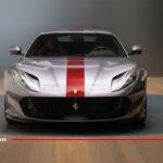 フェラーリが812GTSの純正カスタムを公開!ワインレッドを取り入れたエレガント、かつスポーティーな仕上がりに