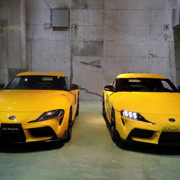 遠目だと実車と見分けがつかない!トヨタとレゴが「実物大GRスープラ」を製作、実際に走行もできるようだ(レゴランドジャパンにて公開中)