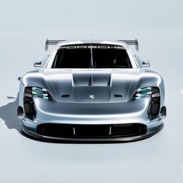 ポルシェのル・マン「ハイパーカークラス」参戦用マシンはこんな感じに?タイカンGT1 Evoのレンダリングが公開