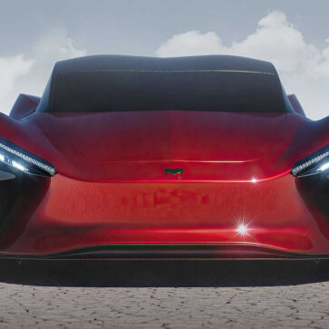 「インド初のハイパーカー」、アザニが予約受注開始!1000馬力、0−100キロ加速2.1秒、最高速322km/h、航続距離は523km。絶対に発売は無理じゃろ・・・