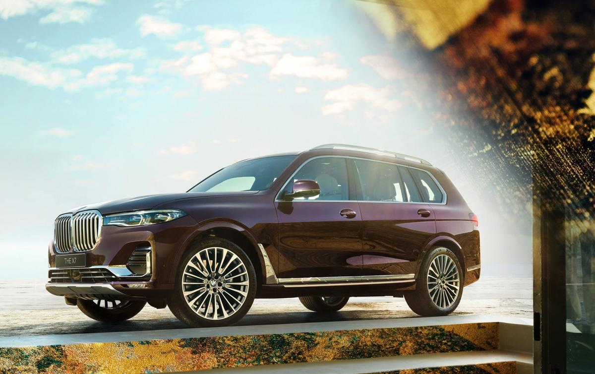 その価格1680万円、日本限定3台のみの「BMW X7 西陣エディション」!すでに1台が売れたようだ