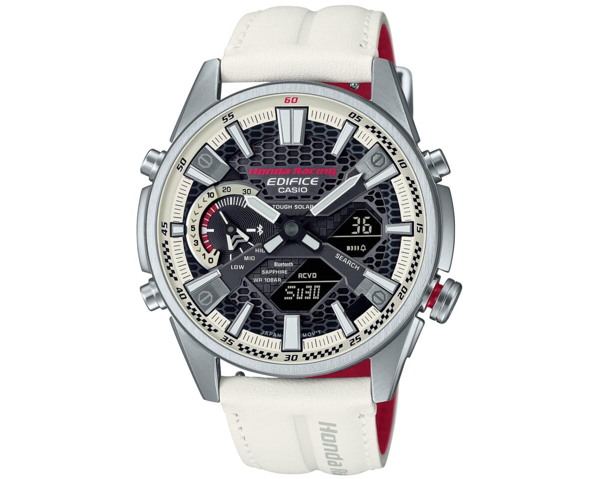 エディフィスがホンダ初のF1マシン、RA271とのコラボ腕時計「ホンダ・レーシング・チャンピオンシップホワイトエディション」発表。ダイヤルには実車と同じ塗料を使用