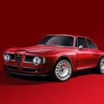 かつてのアルファロメオ・ジュリアGTに現代ジュリアのエンジンを積んだレストモッド登場!22台限定、価格は5200万円