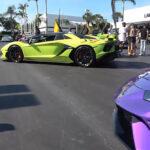 米スーパーカーディーラーの開催したイベントに集まったメンツがスゴすぎると話題に!会場はランボルギーニ、フェラーリ、マクラーレンだらけ