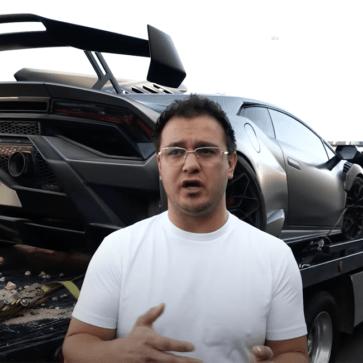 【動画】納車されたばかりのランボルギーニ・ウラカンSTOがクラッシュ!ちなみに車両は「レンタル用」、どうやら借りた人がウラカンSTOを扱えなかったようだ・・・