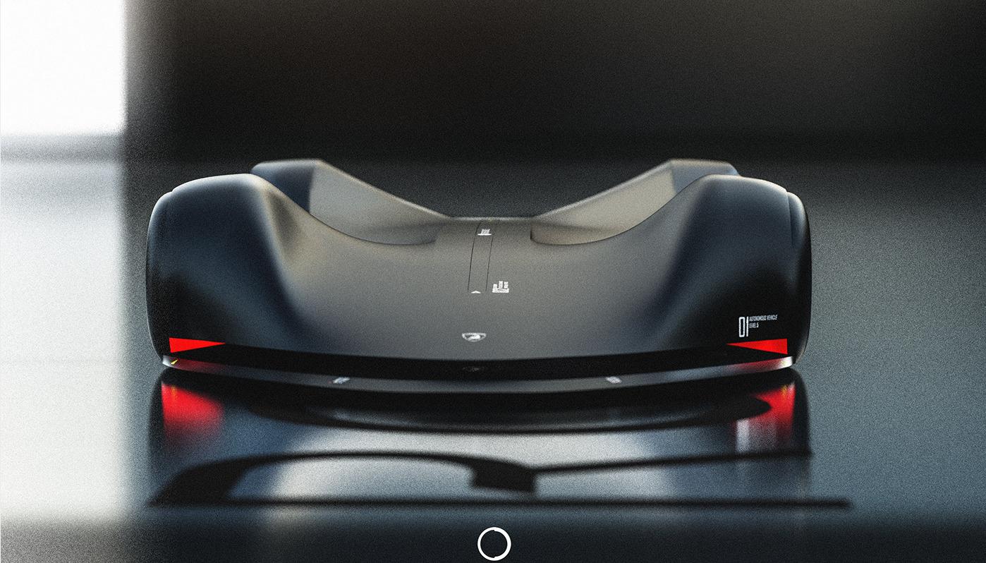 いつかはモータースポーツも「無人」が主流に?AIがドライブするレーシングカー「ランボルギーニ・ロボレース・コンセプト」