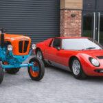 レストアされ新車コンディションのランボルギーニ製トラクターが販売中!フォードGTより10年も前に「ガルフカラー」を採用していたようだ