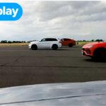 ポルシェ、ランボルギーニ、BMW、ジープ、テスラの誇る「スーパーSUV」を並べて加速競争!意外や重量やパワーの近い5台の勝負の行方は?