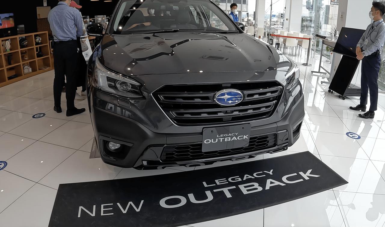 新型スバル レガシィ アウトバックの先行展示車を見てきた!大胆なパーツ構成に加えて細部に至るまでデザインに抜かりなし。スバルは新型車の都度レベルを上げてくるな