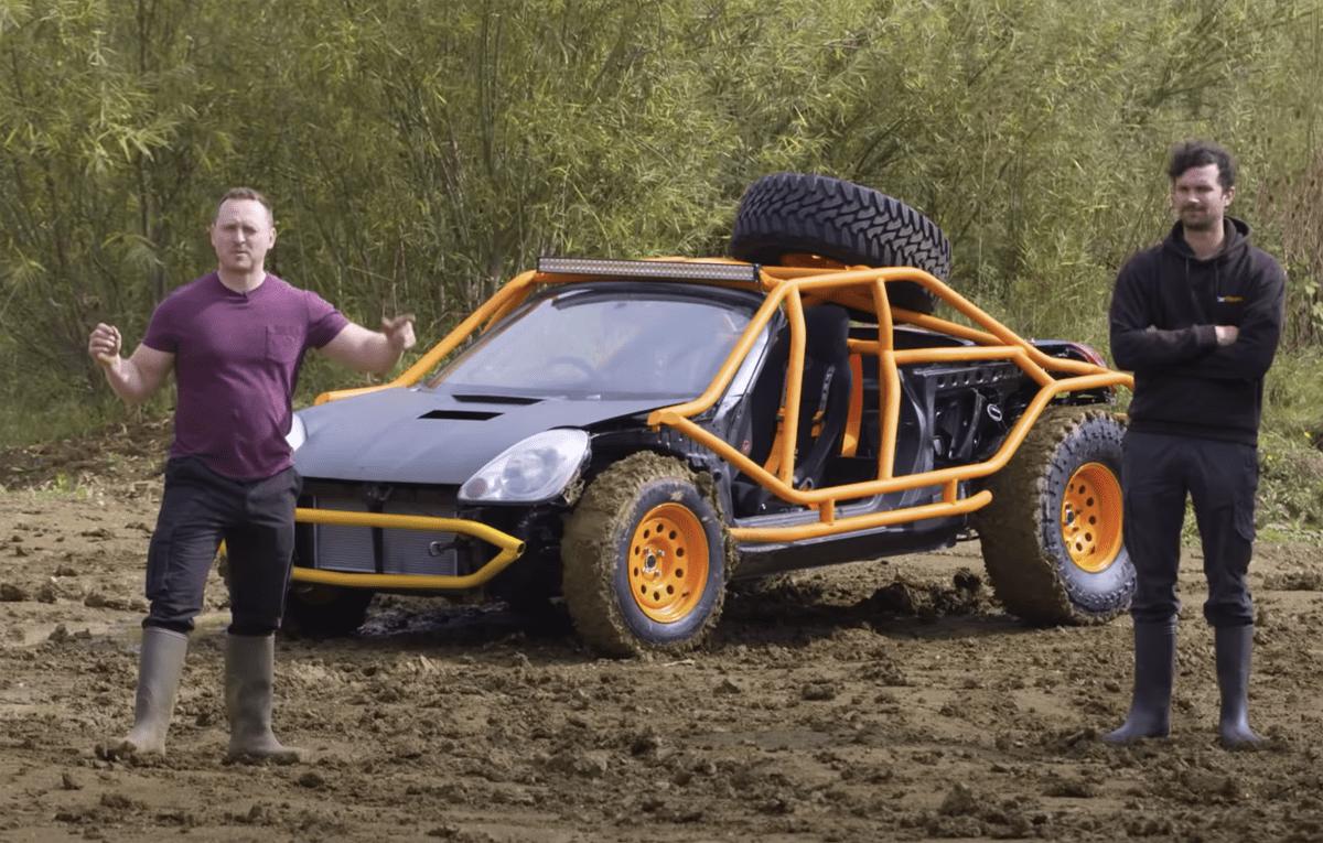 【動画】中古のトヨタMR-Sを15万円で購入して究極のオフローダーを作り上げた男たち!どろんこ遊びが楽しそうだ