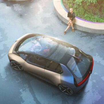 BMWが2040年のコンパクトEV、「i ヴィジョン サーキュラー コンセプト」を発表。今から20年後の自動車がどうなるのかはまったく想像できないな・・・