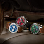 ブライトリングが「シェルビー コブラ」「コルベット」「マスタング」をフィーチャーした腕時計シリーズ「クラシックカースクワッド」発売